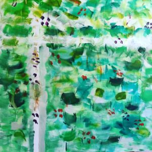 Painting to recover from grief